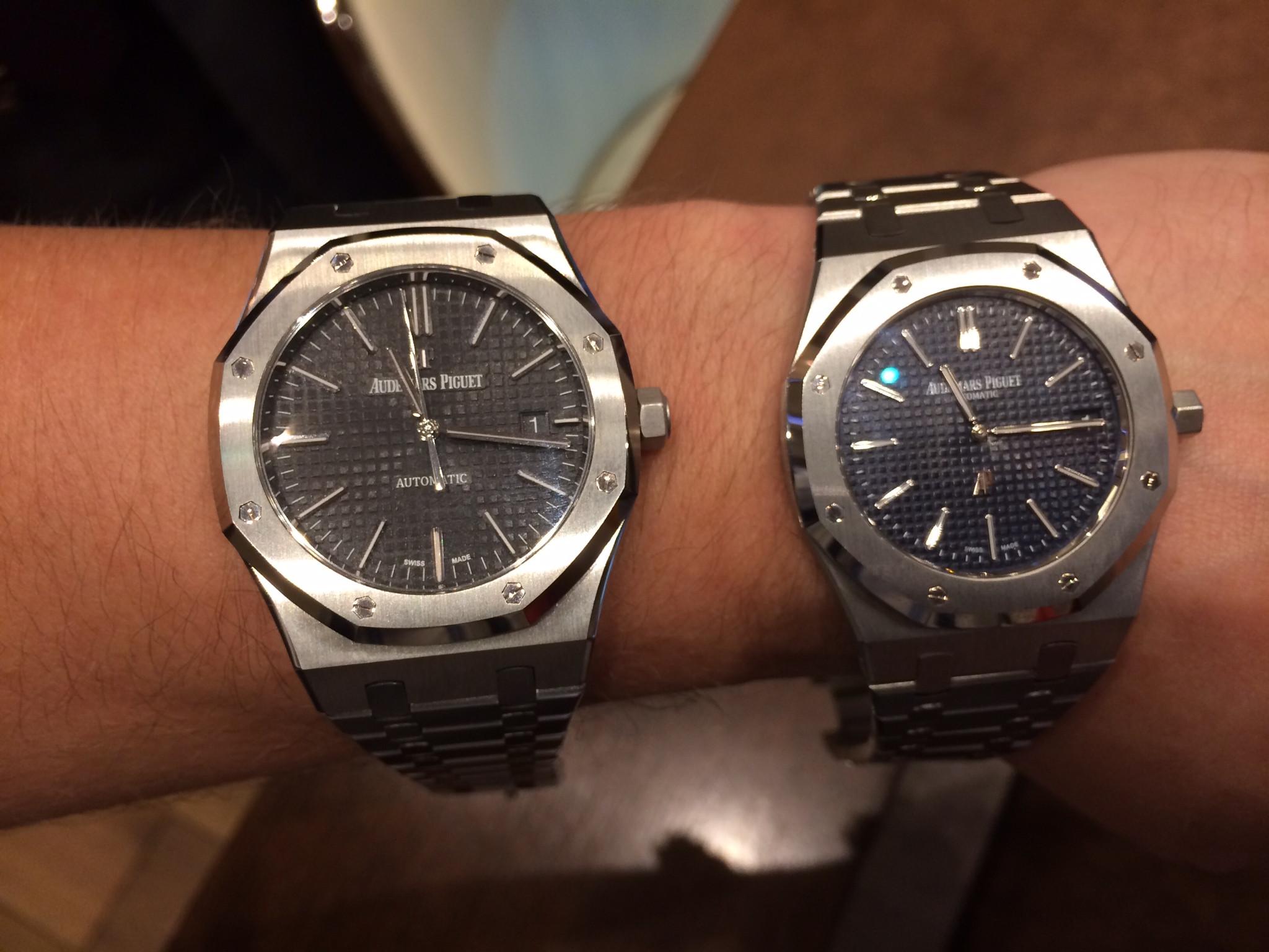 Audemars Piguet Royal Oak 15400 Two-Tone Replica Watches