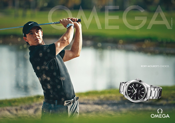 Rory McIlroy Leaves Audemars Piguet And Joins OMEGA