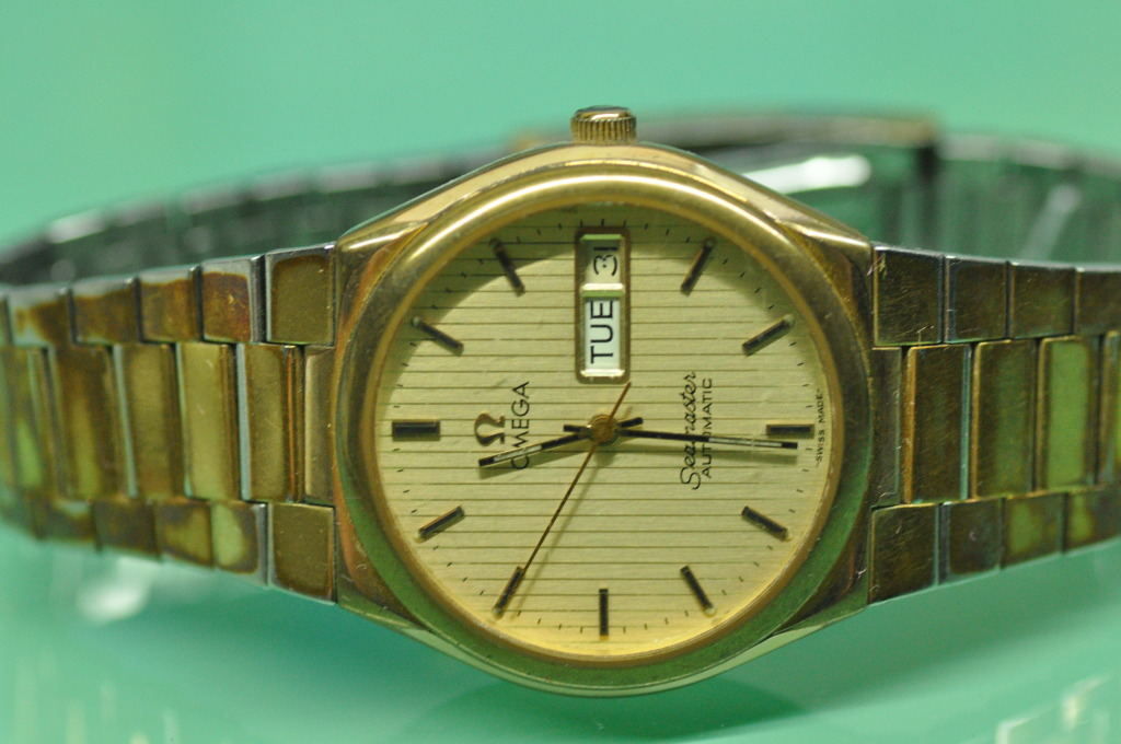 Omega Seamaster Gold Replica Watches