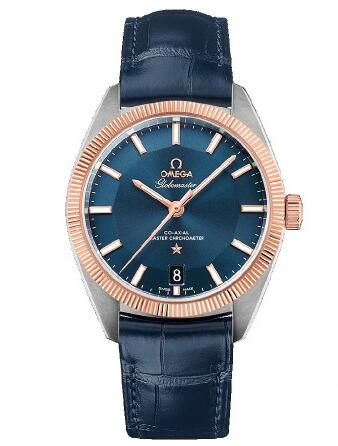 Three blue dial replica watches recommend