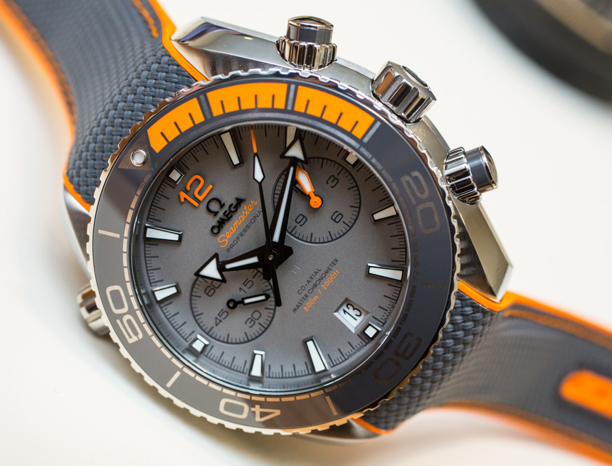 Omega Seamaster Chronometer Replica Watches Hands On