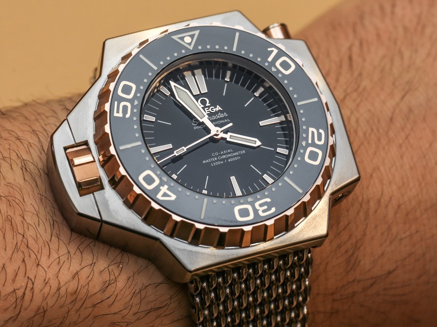Omega seamaster ploprof 1200m co axial master chronometer replica watch high quality omega for Omega replica watch